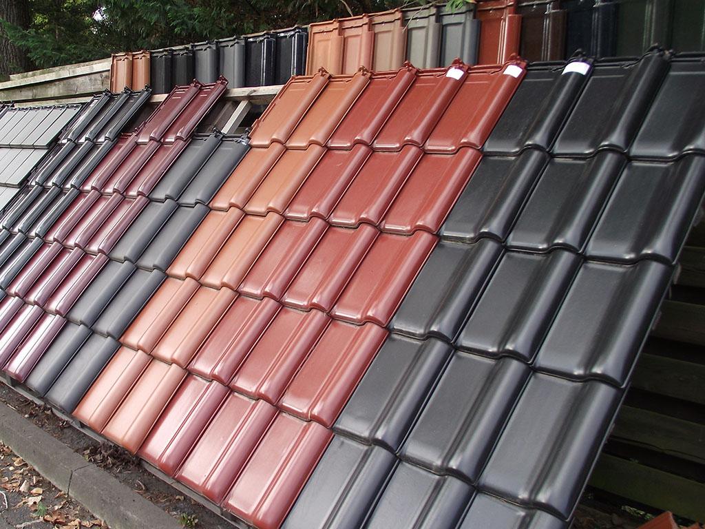 Dachziegel farben  BHS Baustoffe: Dach & Fassade